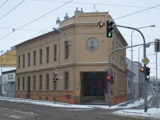 Husův sbor Církve československé husitské na nároží ulic Křenová a Tržní