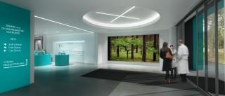 Takto bude vypadat vestibul nové továrny